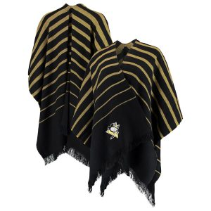 Women's Pittsburgh Penguins Black Wrap Scarf