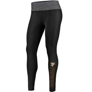 Women's Pittsburgh Penguins Fanatics Branded Black Made To Move Leggings