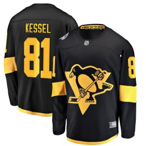 Men's Pittsburgh Penguins Phil Kessel Fanatics Branded Black 2019 NHL Stadium Series Breakaway Player Jersey