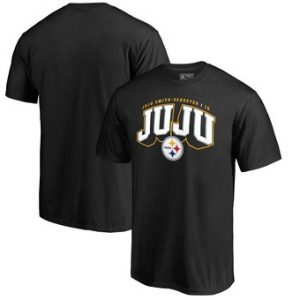 JuJu Smith-Schuster Pittsburgh Steelers NFL Pro Line by Fanatics Branded Hometown Collection T-Shirt – Black