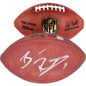 Autographed Pittsburgh Steelers Ben Roethlisberger Fanatics Authentic Football