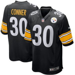 James Conner Pittsburgh Steelers Nike Game Jersey – Black