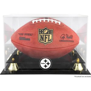 Pittsburgh Steelers Fanatics Authentic Golden Classic Team Logo Football Display Case