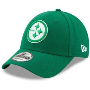 Pittsburgh Steelers New Era St. Patrick's Day League 9FORTY Adjustable Hat – Kelly Green