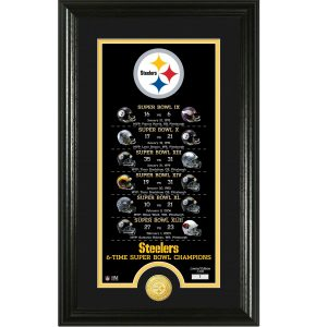 Pittsburgh Steelers Highland Mint Legacy 14″ x 21″ Photomint