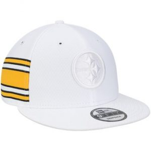Pittsburgh Steelers New Era Kickoff Color Rush 9FIFTY Adjustable Hat – White