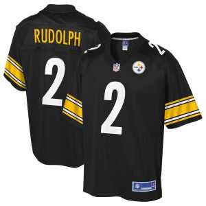 Men's Pittsburgh Steelers Mason Rudolph NFL Pro Line Black Player Jersey